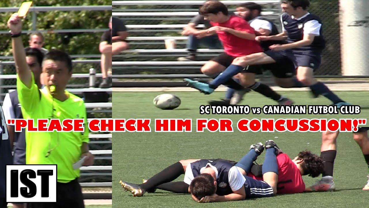 Download U21's BATTLE in COMPETITIVE Match! SC Toronto vs Canadian Futbol Club!