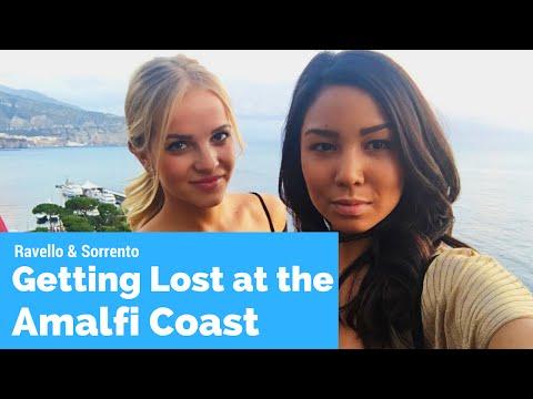 EUROTRIP Travel Vlog in Amalfi Coast Prt I- Lunch in Ravello to Dinner in Sorrento