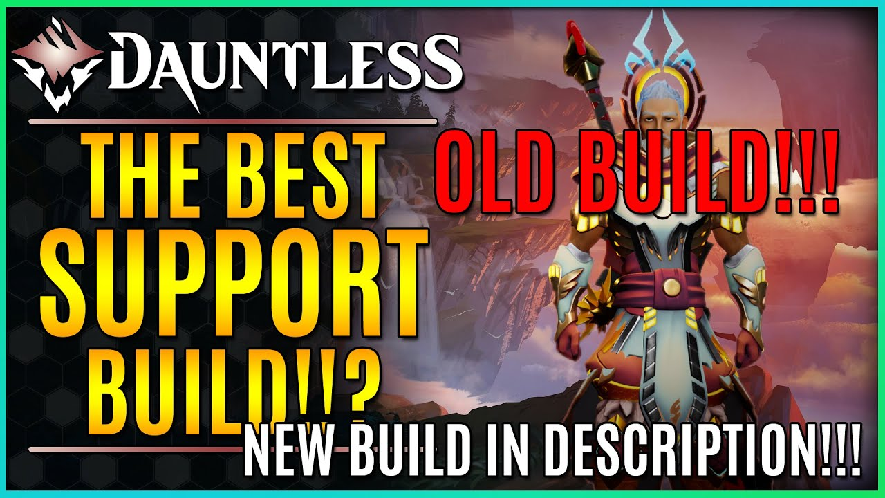 Dauntless Reforged Best Support Build Carry Low Lvl Players In Hunting Grounds Escalation Youtube
