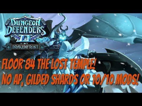 DD2 Floor 84 Lost Temple! No Ancient Power Or Gilded Shards!
