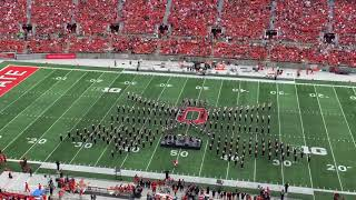 Full Ohio State Marching Band halftime show vs. Oregon State
