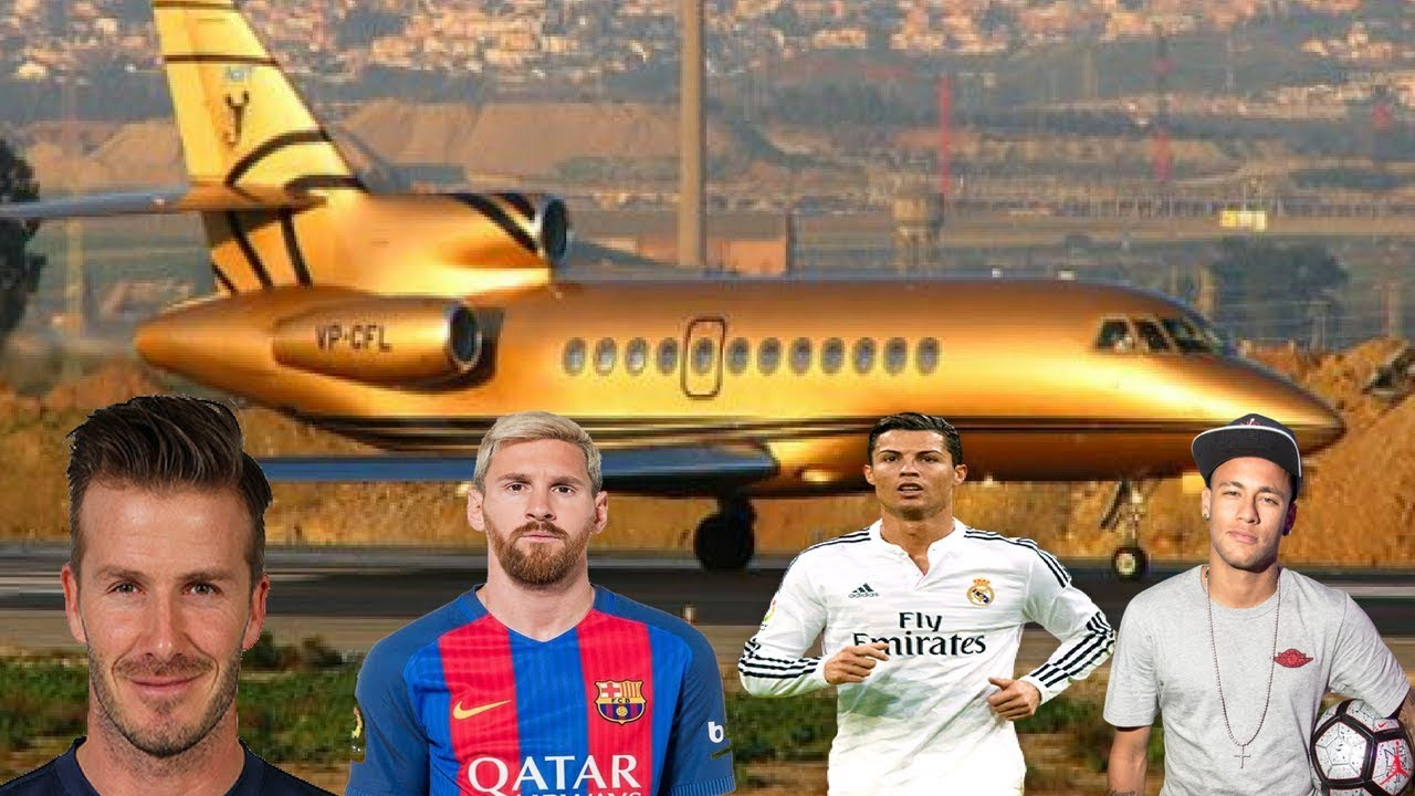 Jet Privato Messi : Top footballers luxurious private jets ♦ ft