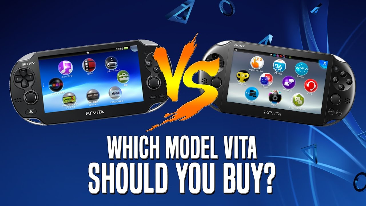 Which Playstation Vita Should You Buy In 2018? - YouTube