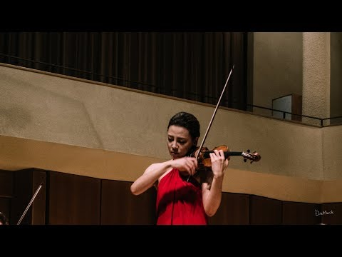 Clara-Jumi Kang: (Fan Footage) Paganini, Caprices for Solo Violin No. 5