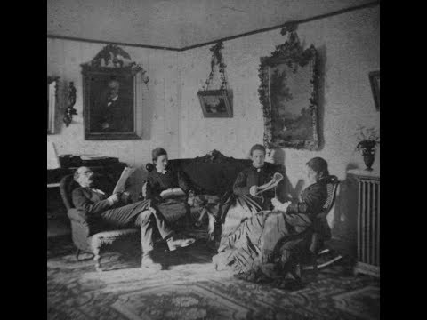 3D Stereoscopic Photos of House Interiors in New York in the 1800's