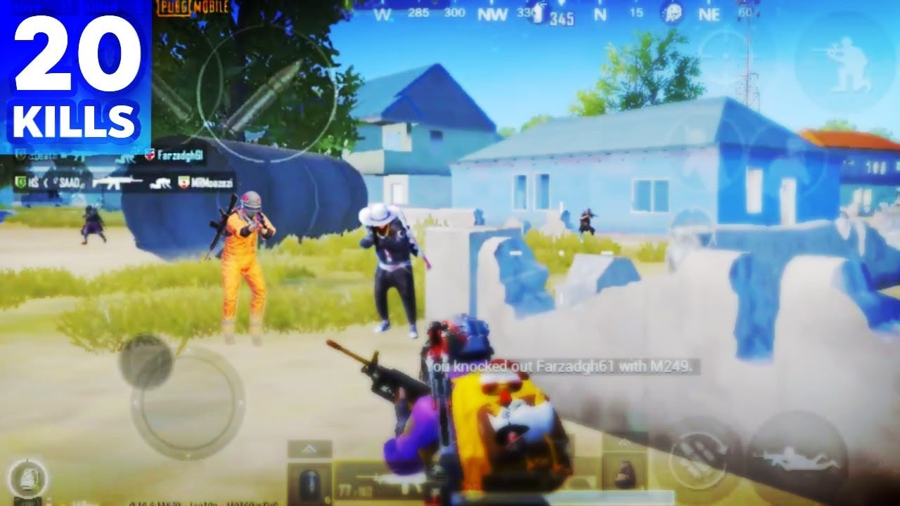 Photo of SAMSUNG GALAXY A51 PUBG MOBILE | SMOOTH + EXTREME | FOUR FINGER CLAW | 20 KILLS – سامسونج