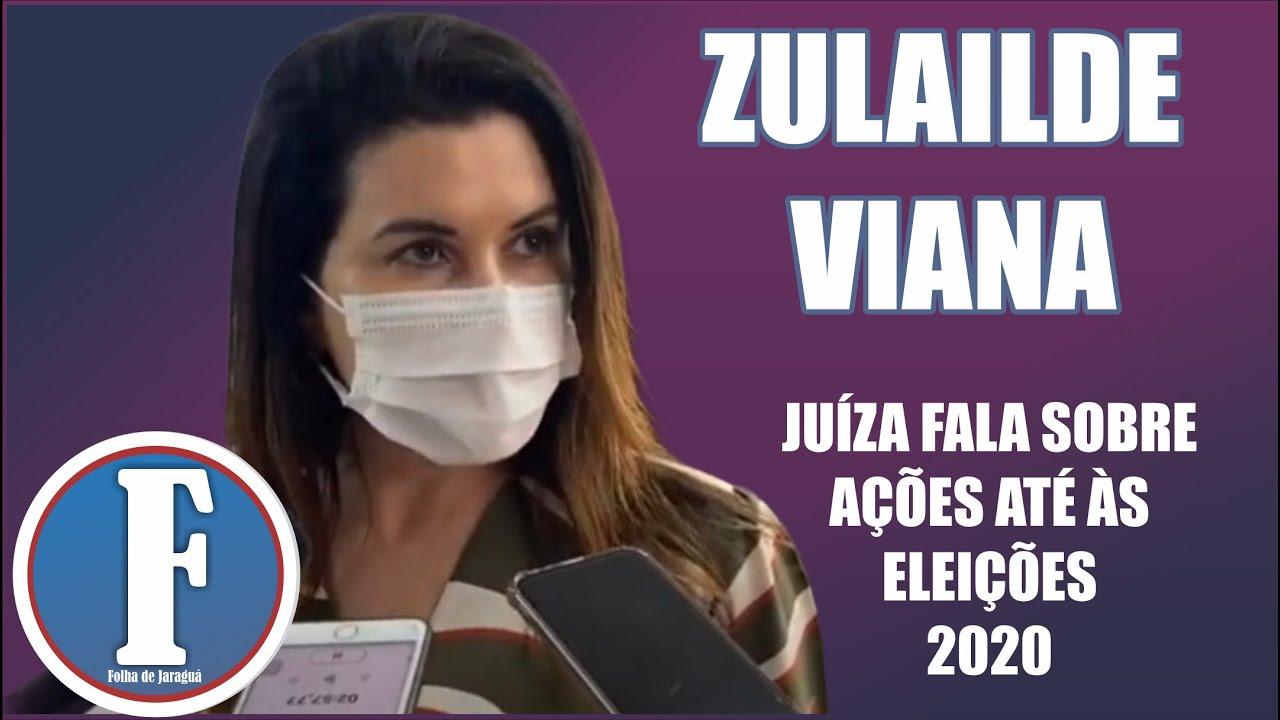 Juíza destaca regras para as eleições em Jaraguá, Jesúpolis e São Francisco