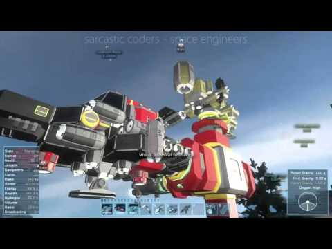 Sarcastic Coders play Space Engineers S01E19