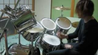 X JAPAN - Silent Jealousy ピアノ&ドラムコピー