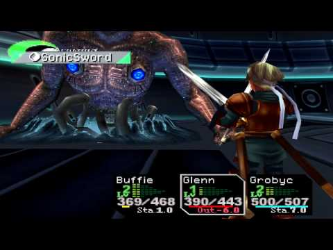 Chrono Cross Boss FATE