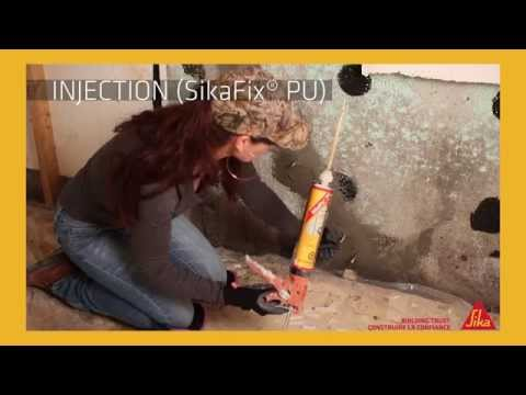 SikaFix Kit - Injection Repair Kit for Leaking Foundations