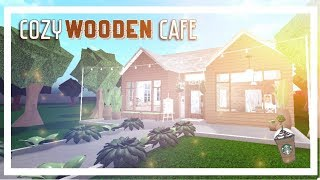 ROBLOX BLOXBURG: Cozy Wooden Cafe || 46k