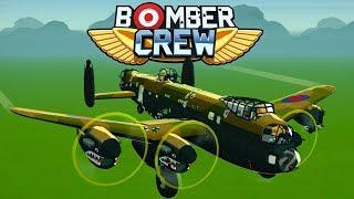 Bomber Crew   WW2 Bomber Management Game   Raiding An Airfield!   Bomber Crew Gameplay Part 1