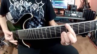 Brian Gilmanov - Mayones Regius 8 String Masterbuilt - Demo *1080p*