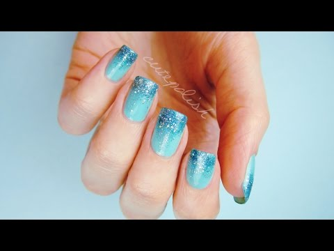 Prom Nails: Perfect Glitter Ombre DIY