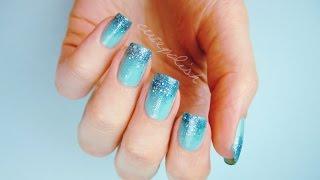 Prom Nails: Perfect Glitter Ombre DIY!