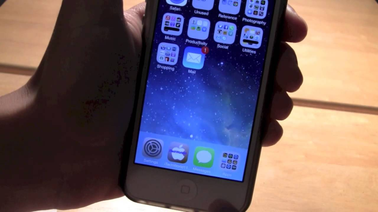 Grab The Ios 11 Default Wallpaper: 3D/Moving Wallpapers IOS 7 Demo
