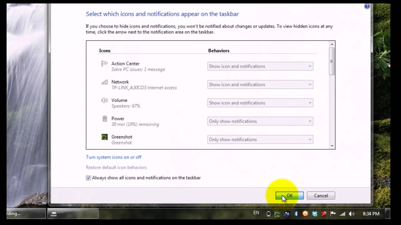 How to Group and Ungroup Taskbar Icons in Windows 7 - YouTube