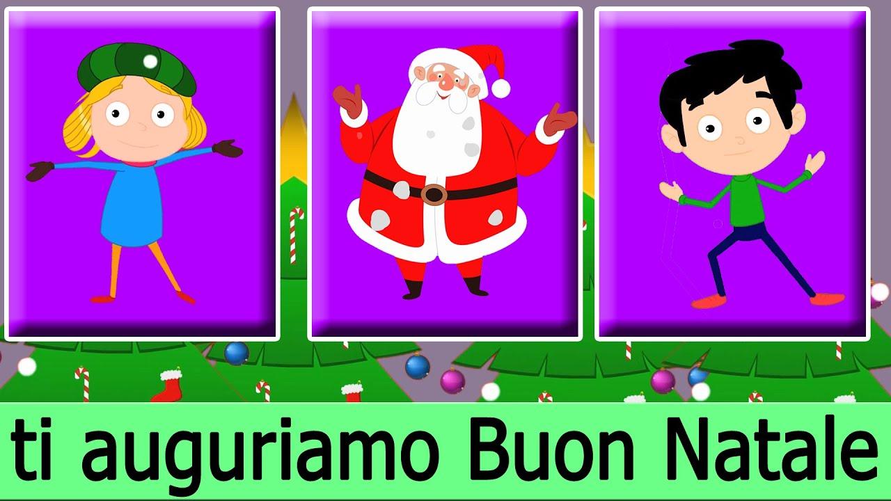 Canzone Auguriamoci Buon Natale.Vi Auguriamo Un Buon Natale Canti Natalizii In Italiano Per Bambini Jingle Bell Christmas Youtube