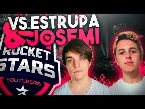 CONTRA ESTRUPA Y JOSEMI TORNEO DE YOUTUBERS ROCKET LEAGUE thumbnail