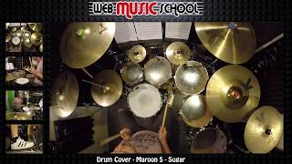 Maroon 5 - Sugar - DRUM COVER