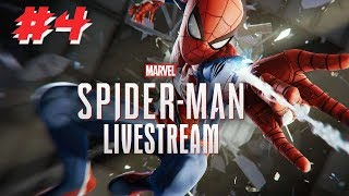 🔴POST AVENGERS ENDGAME FUN: SPIDERMAN PS4 FIRST EVER PLAYTHROUGH Continued LIVE !🔴
