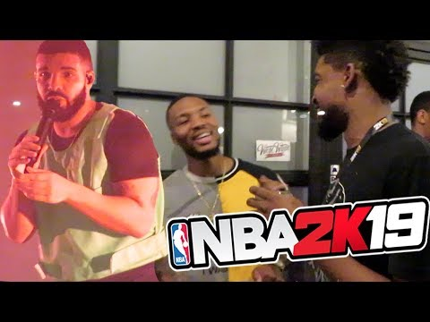 TOP SECRET NBA 2K19 PARTY & DRAKE CONCERT VLOG!