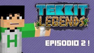 Tekkit Legends | Energia Solar! | #2