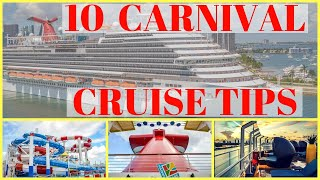 Top 10 Carnival Cruise Tips You Should Know