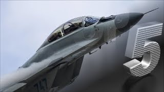 2018 Top 5 ✭ Russian Fighter Jets ✭