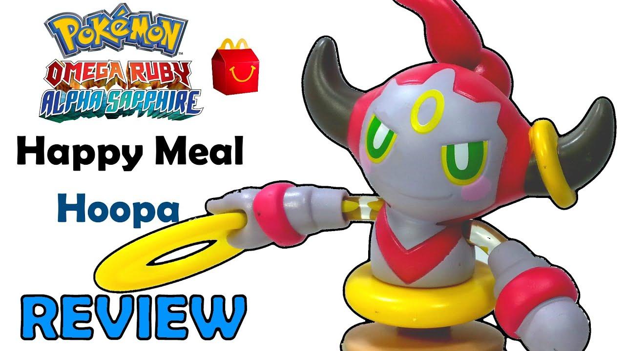 mcdonalds hoopa pokemon omega ruby alpha sapphire happy meal toy