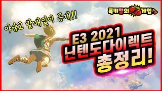드디어 야숨2가!! E3 2021 닌텐도다이렉트 총정리![젤다의 전설 야생의 숨결 2]