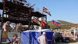 10 августа. Севастополь. Международное байк-шоу. Сбор подписей