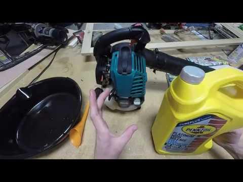 Makita BHX2500 Leaf Blower Oil Change