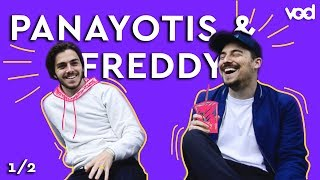 PANAYOTIS & FREDDY 1/2 - Amitié, projets, stand-up... #VOD