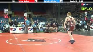 Cadet 106 - Reese Dalton (Georgia) vs. Nicholas Walker (Florida)