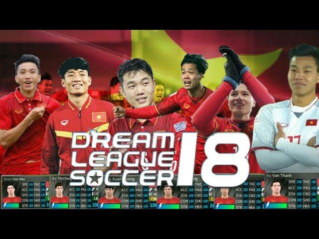 Hướng Dẫn Mọi Người Có Đội Hình U23 Việt Nam DLS2018