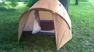 Видео обзор 4-х местной палатки Green Camp 1004