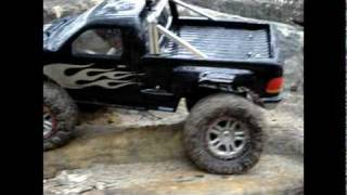 1/5 Scale F150 Rock Crawler tackles Menai with NEW Narrowed rims