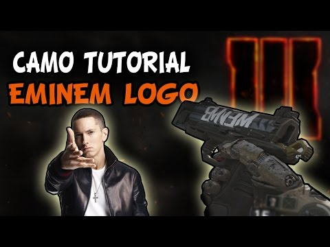 Call of Duty: Black Ops 3 Beta - Paint Shop | EMINEM Logo Camo | Tutorial