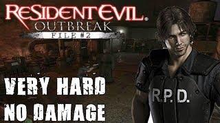 "Resident Evil Outbreak File #2: ""Showdown 3"" No Damage (Very Hard)"