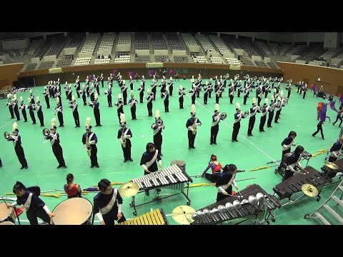 Winter Marching Party in KYOTO TONAN Marching Band The Gryphons