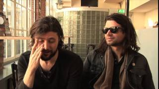 Taking Back Sunday interview - John Nolan and Adam Lazzara (part 1)