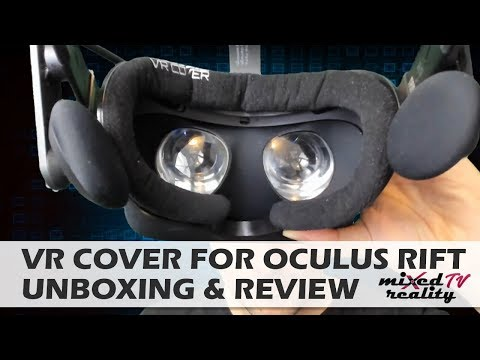 VR Cover For Oculus Rift - Unboxing & Review - Velour Cover Foam Replacement Review