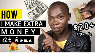 How i make extra money from home|make extra money at home|side paying hustles of 2020| earn $20+home