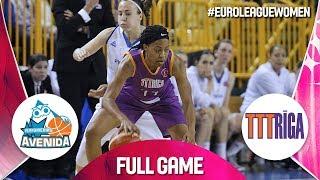 Perfumerias Avenida v TTT Riga - Full Game - EuroLeague Women 2019