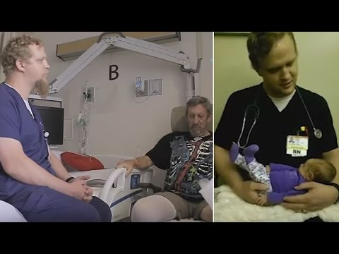 Watch 'The Singing Nurse' Soothe Hospital Patients with Song