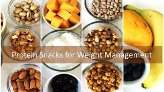 My Protein Snacks for Weight Management from Bhavna's Kitchen