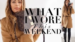 WHAT I WORE & BOUGHT THIS WEEKEND | Lydia Elise Millen