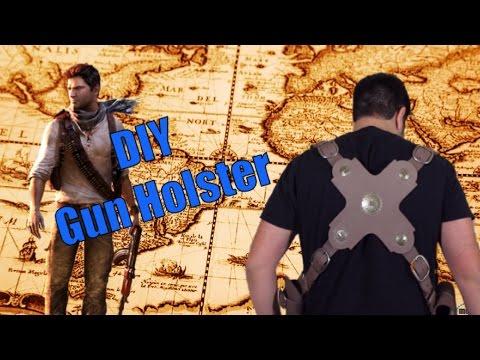 DIY: Uncharted 3 Nathan Drake Cosplay  Part 1: Gun Holster